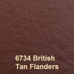 Eurobond Cover Material colour 6734 British Tan with Flanders Embossing