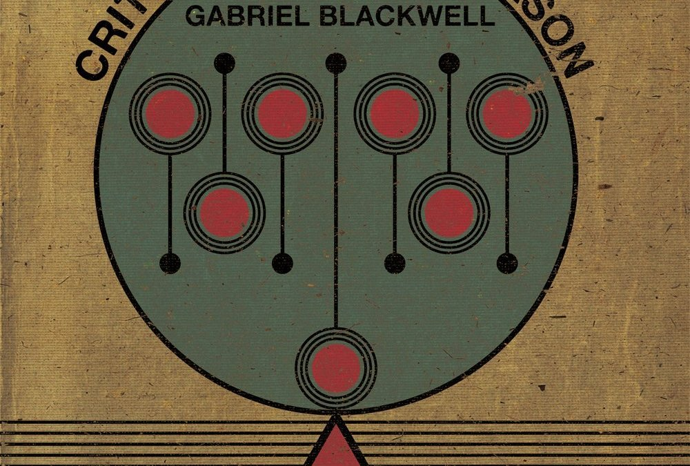 Review: Critique of Pure Reason by Gabriel Blackwell