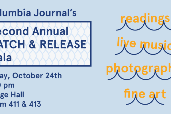 You're invited to the 2nd Annual Catch & Release Gala!