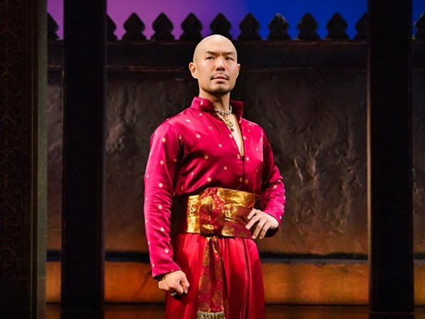 Hoon Lee as King Monkut (photo by Imogen Lloyd Webber)