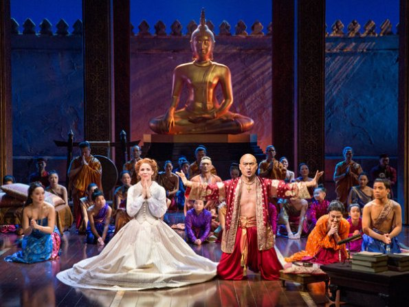 The King and I Set by Michael Yeargan (photo by Sara Krulwich, NYTimes)
