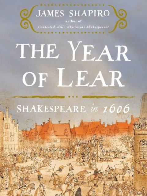 Book cover, The Year of Lear