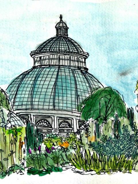 Botanical Gardens, by Rowan Wu