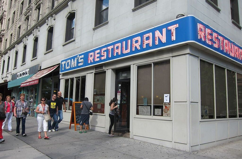 Peter, In The Buff: Tom's Diner by Peter Hoffman