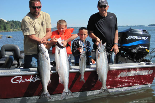 Limits of Summer Chinook! The best tasting fish out there!