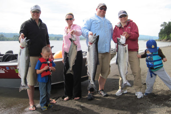 Salmon fishing at it's finest on the Columbia River!