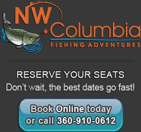 Book your Columbia River Fishing Trip