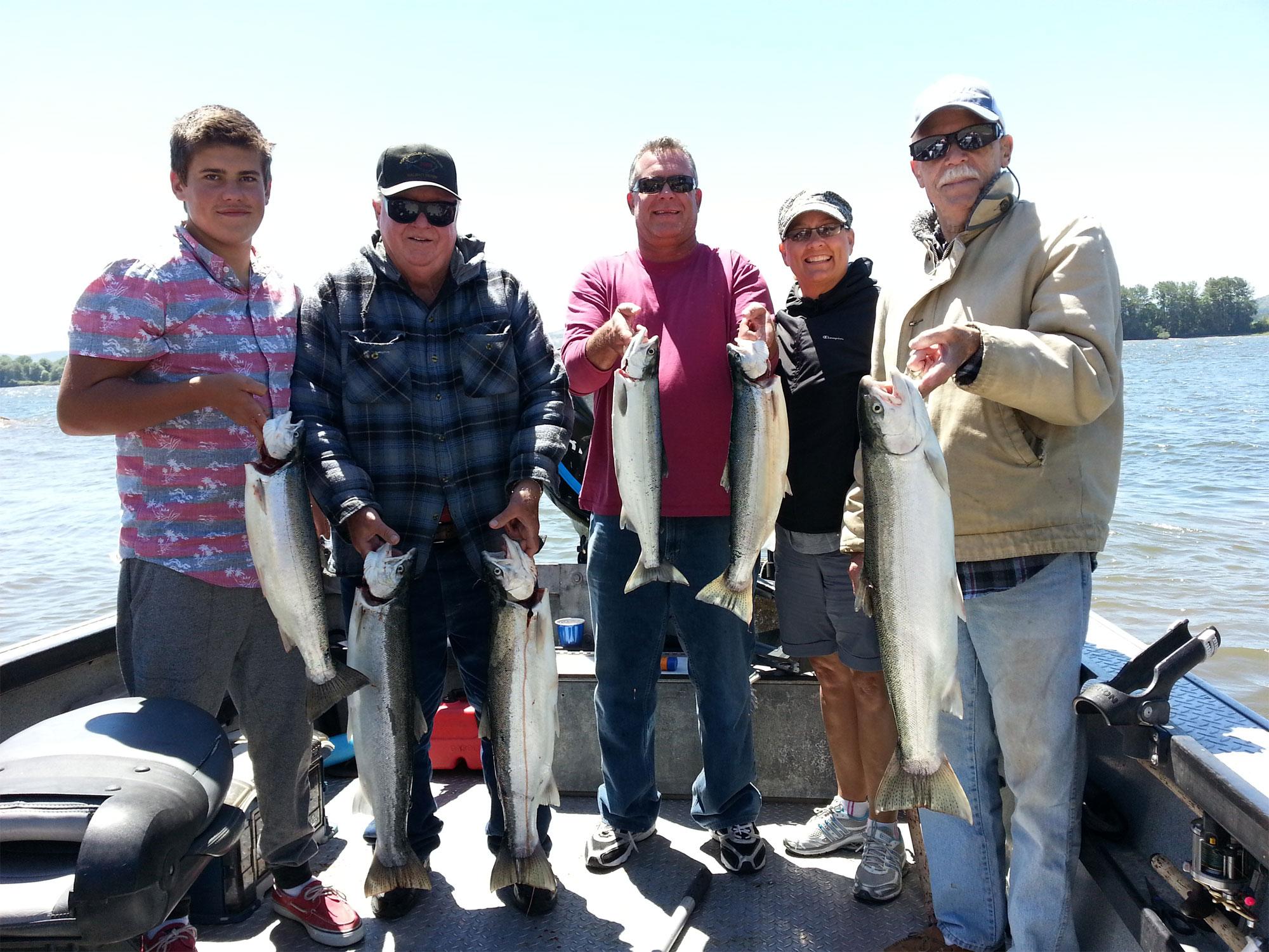 Steelhead fishing guide columbia river fishing guides for Fishing guides washington state