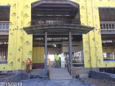 STEM Main Level Entrance