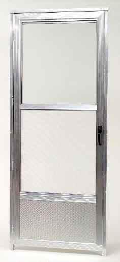 Custom Aluminum Storm Doors  Columbia Glass & Windows