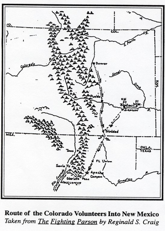 History: Colorado Territory Civil War Volunteers