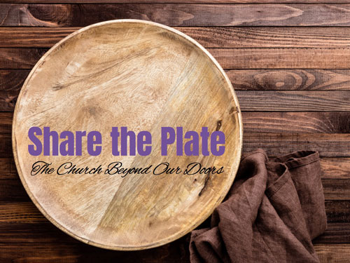 "On the third Sunday of each month, Columbine UU Church ""shares the plate"" with a non-profit beneficiary."