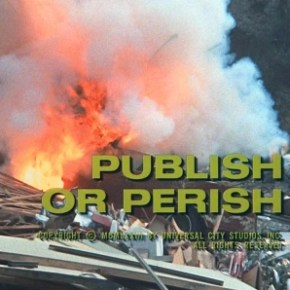 Publish or Perish: a second opinion