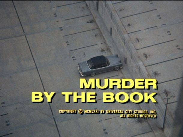 Murder by the Book opening scene