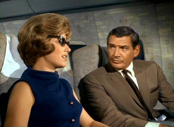 Prescription: Murder airplane scene
