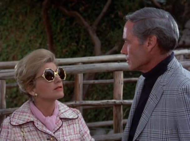 Columbo fashion requiem for a falling star