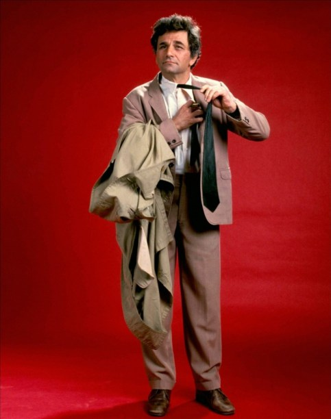 Columbo portrait