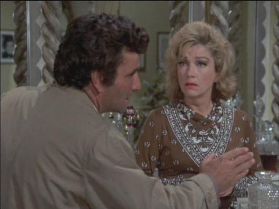 Peter Falk Anne Baxter Columbo Requiem for a Falling Star