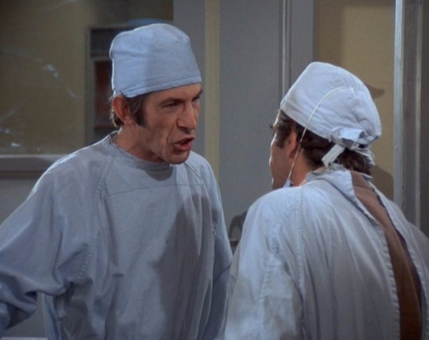 Columbo Stitch in Crime Leonard Nimoy as Dr Barry Mayfield