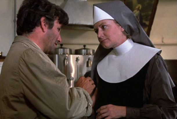 Columbo Negative Reaction nun scene