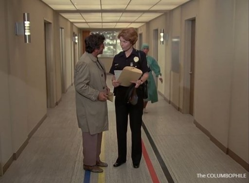 Columbo Forgotten Lady Sergeant Leftkowitz