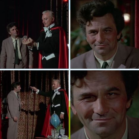 Columbo Now You See Him handcuffs montage