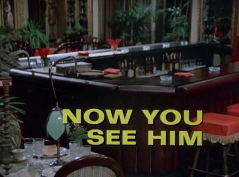 Columbo Now You See Him opening titles