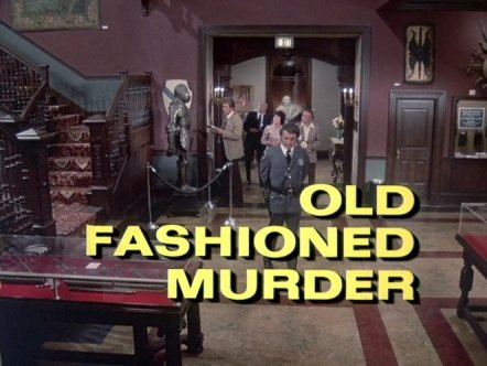 Columbo Old Fashioned Murder opening titles