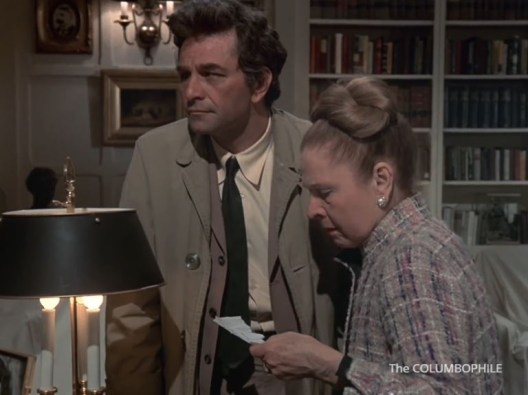 Columbo Try and Catch Me Ruth Gordon