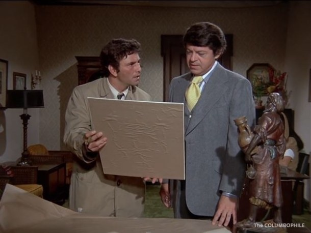 Columbo Suitable for Framing