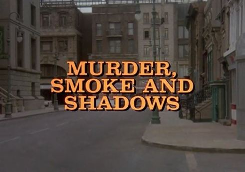 Columbo Murder Smoke and Shadows  opening titles