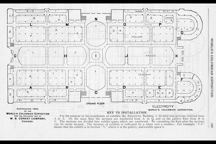 The Official Directory Of the World's Columbian Exposition