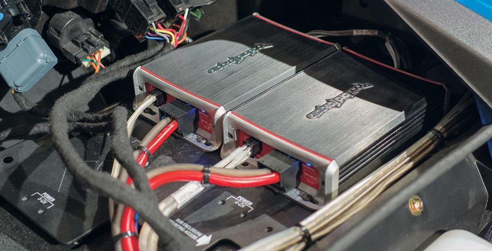 Rockford Fosgate Punch Amp Wiring Diagram Rockford Fosgate Custom Audio For Your Polaris Rzr