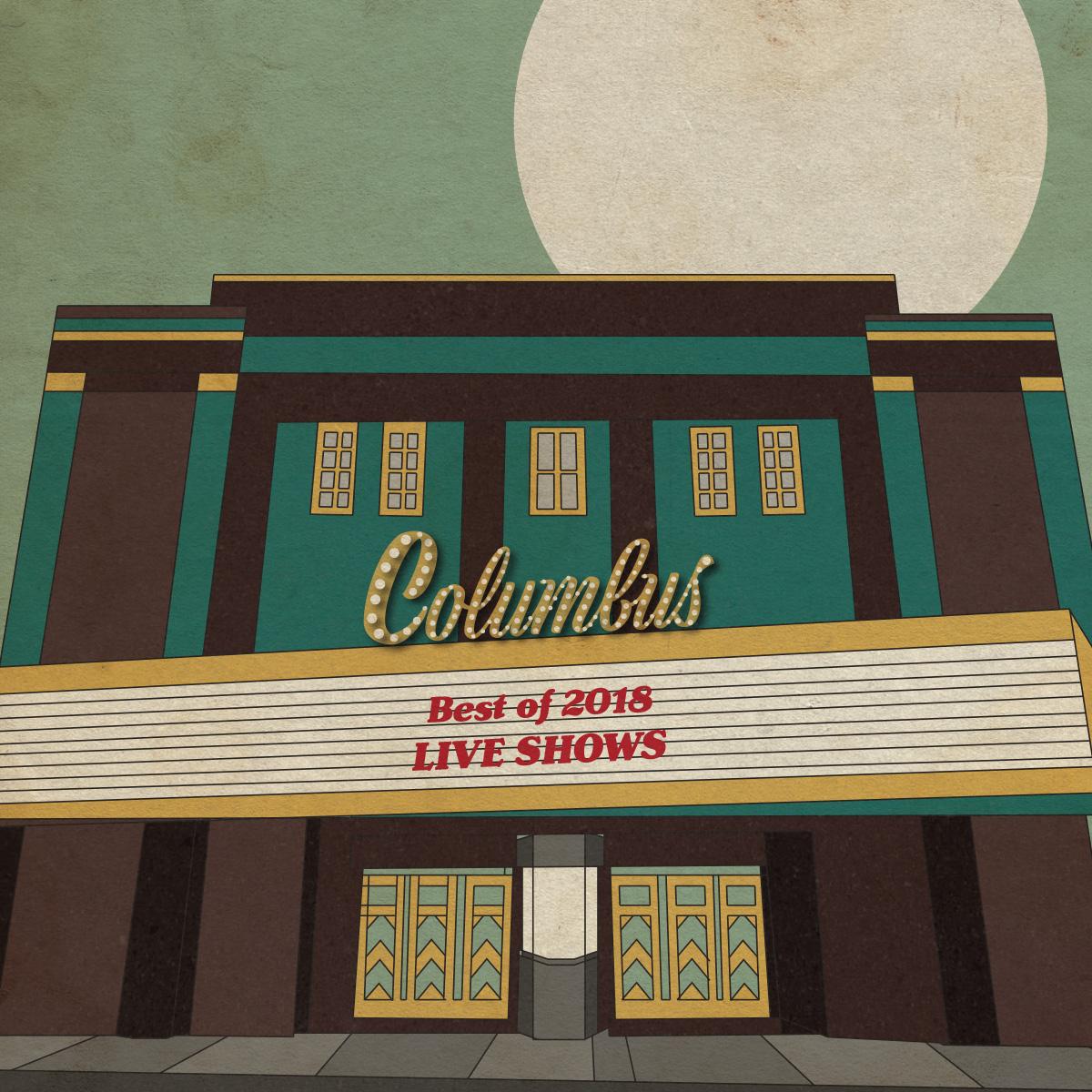הופעות השנה של קולומבוס – 2018