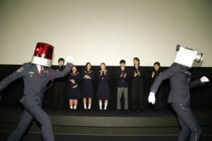 日本實行親告制,不過電影院抓「映画泥棒」(電影小偷)還是不遺餘力的。圖片來源:《所羅門的偽證》聯映活動