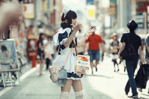 現代女僕結合了「萌」元素,與傳統女僕有很大幅度的改變  圖源:http://mery.jp/images/218651