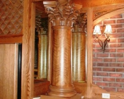 Wood Column Cover Image Gallery  Column Covers And Wraps