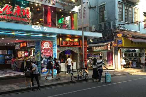 Diverse food scene in Guangzhou