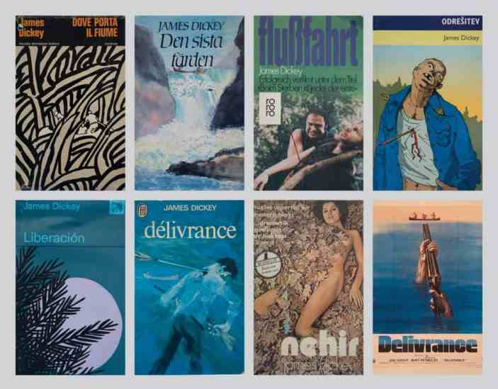 """Copies of """"Deliverance"""" from around the world are part of a James Dickey collection donated to Washington and Lee by Ward Briggs '67."""
