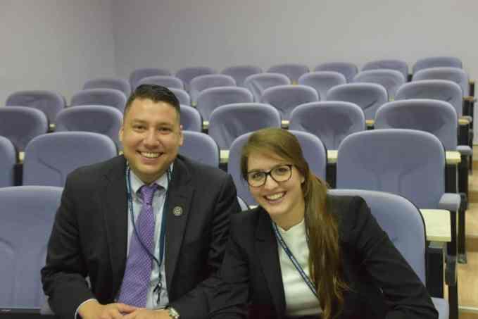Solomon Gonzalez '17L and Katie Sheild '18L