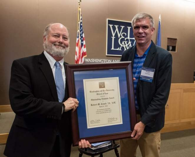 Outstanding Alumni Award Winner Rob Couch