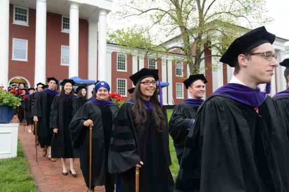 DSC_3788 School of Law Honors Graduates at 2017 Commencement Ceremony