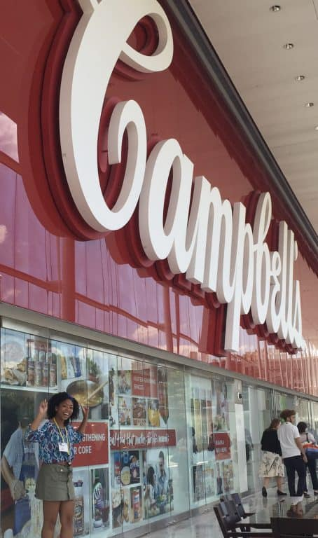 Campbell's has a strong social focus on improving and actively engaging within the communities that they serve, and it was a major partner in the summer project at the Coalition.