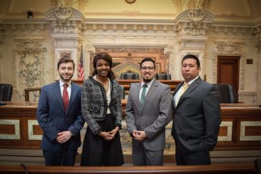 HNBA-PHOTO W&L Law Students Win National Uvaldo Herrera Moot Court Competition for Second Straight Year