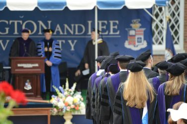 DSC_8727 School of Law Honors Graduates at 2018 Commencement Ceremony