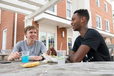 Danner-Butler-'21-and-Alexander-Caines-'21-scaled Scene on Campus Jan 2020