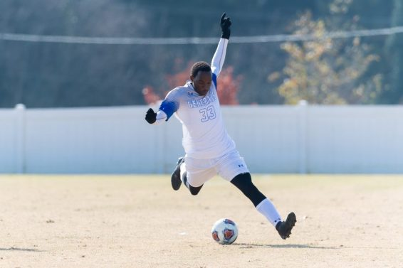 WL-men's-soccer-defeats-N.C.-Wesleyan-1-0-in-the-first-round-of-the-NCAA-Tournament-on-Watt-Field. Scene on Campus Jan 2020