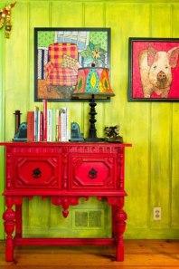 mueble-pintado-decorado-rojo