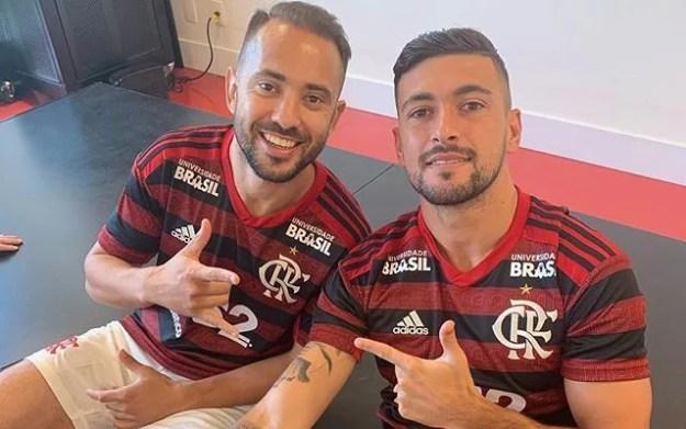 Resultado de imagem para Arrascaeta e Everton Ribeiro, do Fla