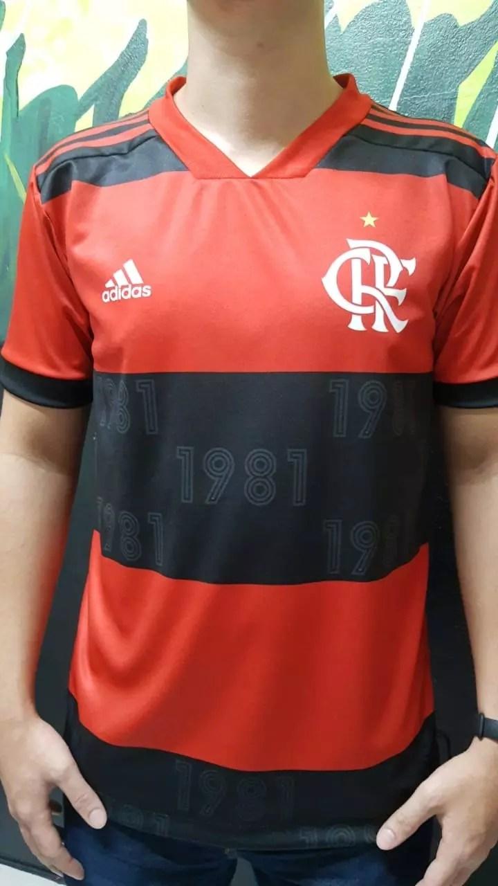 novo uniforme flamengo 2021